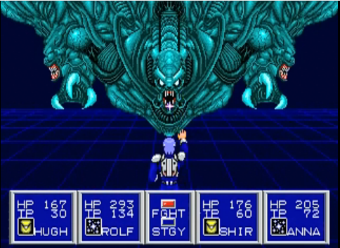 Phantasy Star 2 Battle