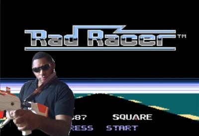 Rad Racer Title