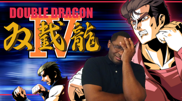Double Dragon 4 Title Card
