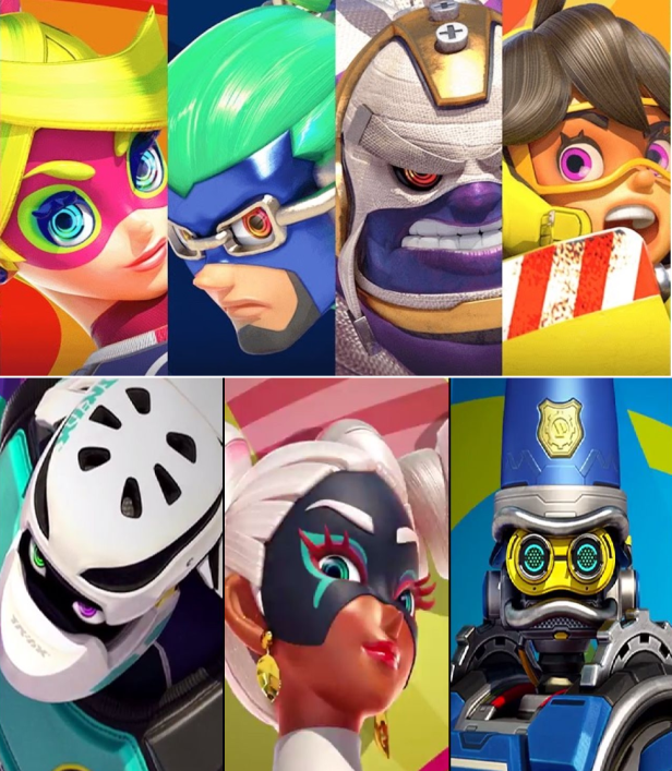 ARMs roster